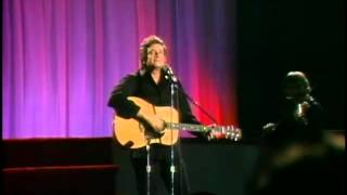 "JOHNNY CASH   Sunday Morning Coming Down"" lyrics-HQ"