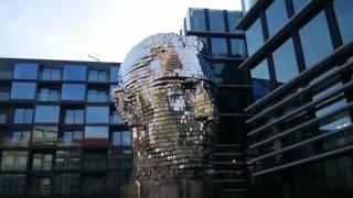 Динамическая скульптура в Праге