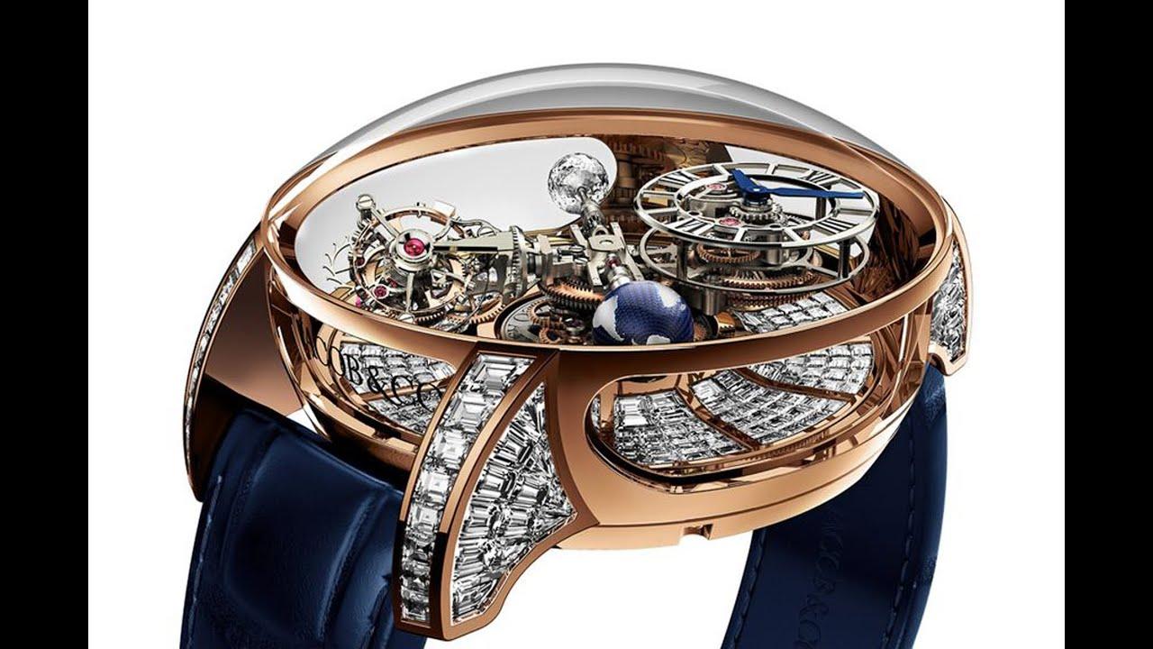 Самые необыкновенные наручные часы в мире