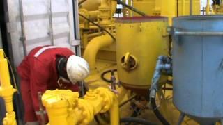 Blasting And Painting Oil Rig Hallmark Global Petroleum