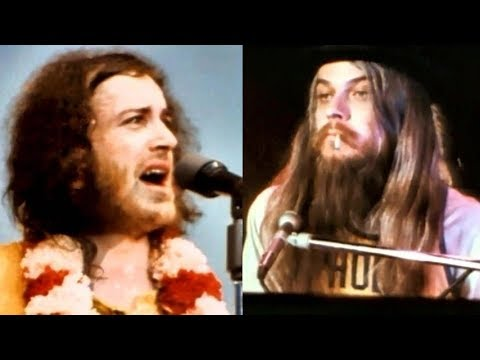 Joe Cocker The Letter with Leon Russell Live on Mad Dogs & Englishmen