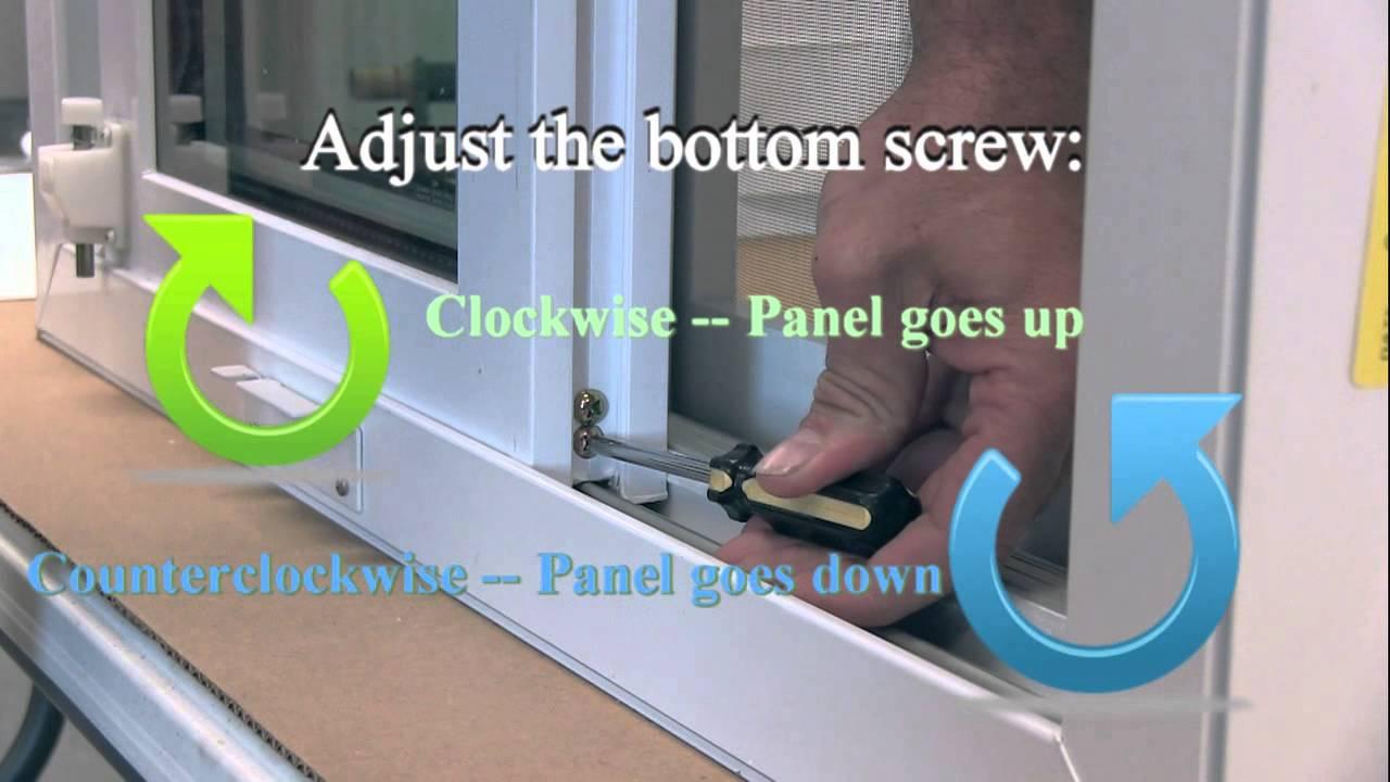 How To 4 Adjust Quaker Manchester Patio Door Hardwares