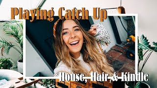 Download Playing Catch up, House Sorting, Long Hair & Mini Kindle Review Mp3 and Videos