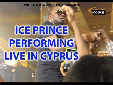 ICE PRINCE OFFICIAL PERFORMANCE LIVE IN CYPRUS (CRATOS HOTEL)