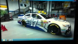 My First NASCAR The Game 2013 Custom Car - Fox Sports 1