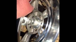 american racing torq thrust ii series 515 one piece wheel pn 515 6761