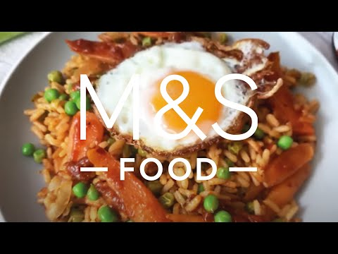 M&S Food | Cook With M&S...Veggie Fried Rice