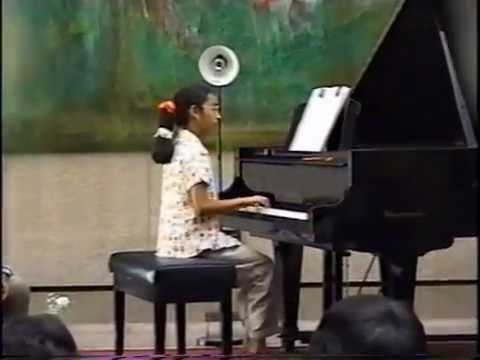 Piano Recital at the Canadian Embassy Riyadh - June 1998 (Part 1 of 4)