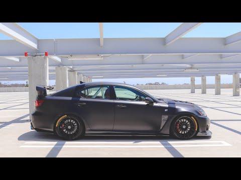 Lexus ISF Complete modification list.