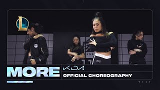 K/DA - MORE Dance -  Official Choreography Video | League of Legends