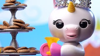 Fingerlings: Hangin' With Gigi | Gigi The Unicorn Misbehaves At A Tea Party