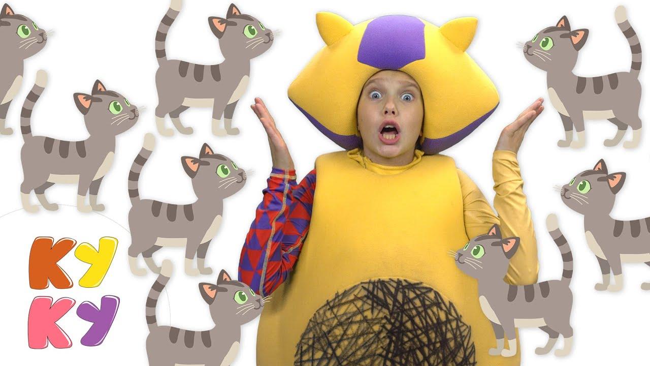Кукутики - КОТИКИ и другие животные - Большой сборник - Песни и мультики для детей малышей
