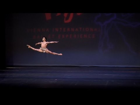 2016 Vienna International Ballet Competition Jorge Barani Medalist Winner - Diana and Acteon