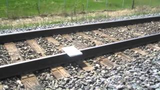 MACBOOK DESTROYED INTO PEICES BY TRAIN