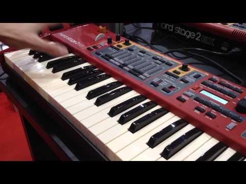 MusikMesse 2015: Nord Stage 2 EX Keyboard