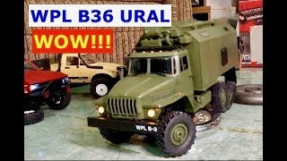 This WPL B36 URAL is amazing for 3 reasons.  (the best WPL so far)