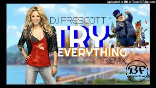 Gambar cover DJ Prescott   Try Everything  Reggae Remix 2017