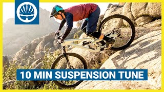 MTB Suspension Setup - How To Get It Dialled In 10-Minutes