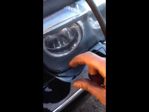 How To Replace Angel Eye Or Headlight Bulb Bmw 745 Youtube
