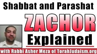 Shabbat/Parashat Zachor explained