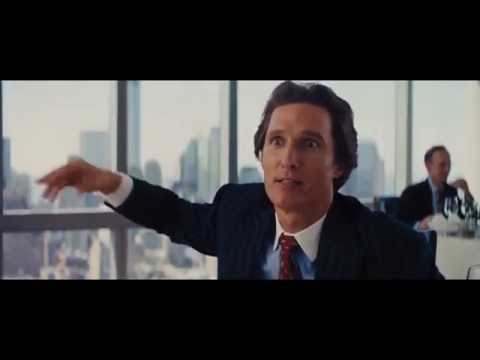 The Wolf of Wallstreet - Restaurant scene