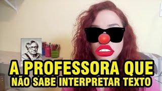 Baixar PAULA MARISA A PROFESSORA QUE NÃO SABE INTERPRETAR TEXTOS DO ENEM (A DIREITA BURRA)