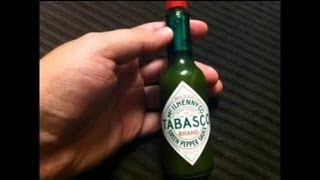 Tabasco Green Pepper Hot Sauce Review