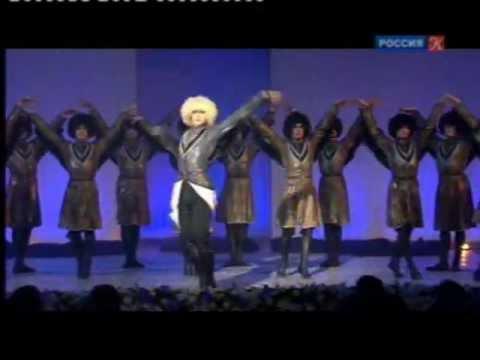 Концерт к 75-летию ансамбля народного танца И. Моисеева