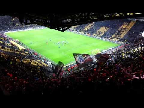 """""""Schanzer das sind wir"""" FC Ingolstadt 04 Support vs. Dortmund 30.01.2016"""