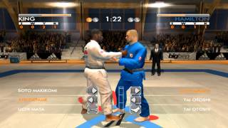 David Douillet Judo - A small fragment of game