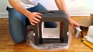 Cube 3 unboxing 3d printer
