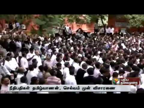 New bench with Chief Justice to hear contempt case against Madurai lawyers