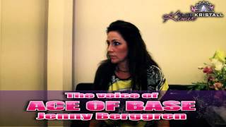 The voice of Ace of Base JENNY BERGGREN in the Klub Kristall 11.06.2013 (Official video)