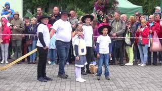 Dożynkowy korowód w Wiśle