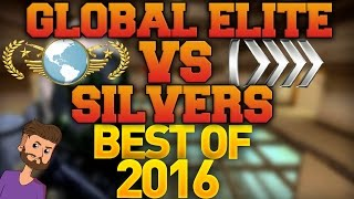 Video CS GO - Global Elite VS Silvers - Best of 2016! download MP3, 3GP, MP4, WEBM, AVI, FLV Desember 2017
