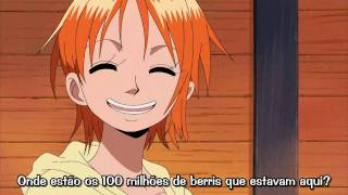 Luffy & Nami - Funny scene of 100 millions of berries!