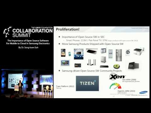 Collaboration Summit 2013 KEYNOTE - Importance of Open Source Software