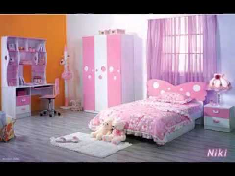 Barbie bedroom design decorating ideas - YouTube