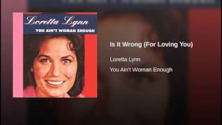 Is It Wrong (For Loving You)
