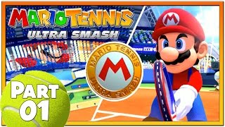 Mario Tennis Ultra Smash - Part 1 | Knockout Challenge To Unlock Star Mario!