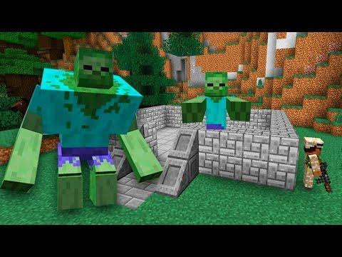 Игра Майнкрафт зомби апокалипсис играть онлайн бесплатно