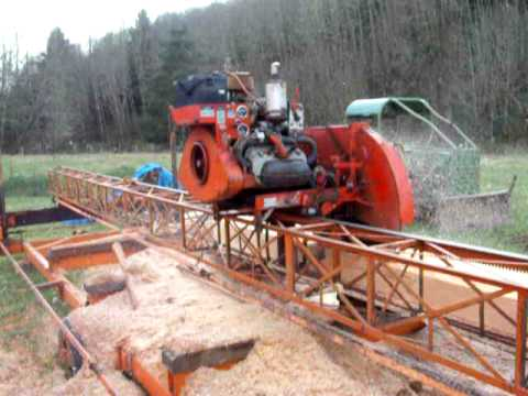 Saw Mill For Sale >> Mobile Dimension Sawmill - YouTube