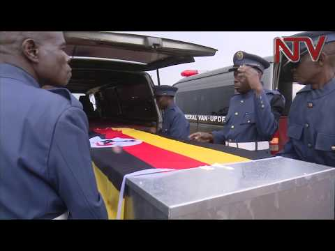 Bodies of UPDF Soldiers killed in Al-Shabab attack returned to Uganda