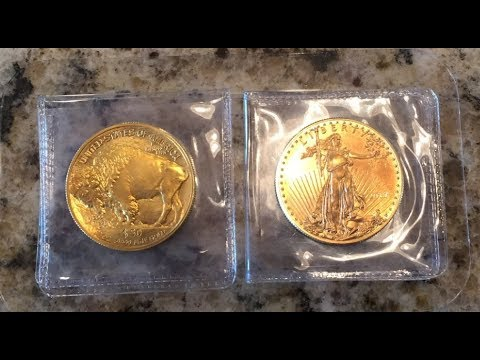 Gold Buffalo Vs Gold Eagle. What's The Difference? 1 OZ Gold Review