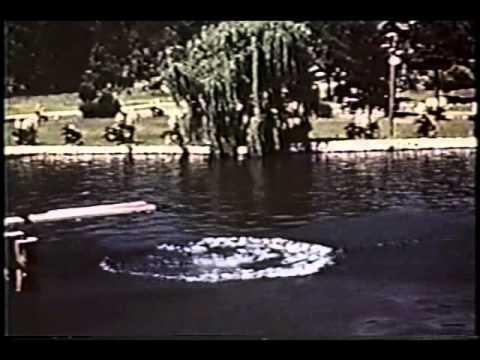 Hot Springs Arkansas 1939 in full color documentary