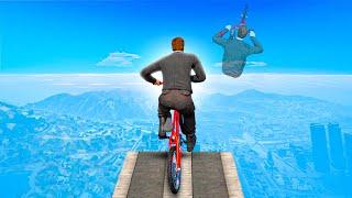 DE LANGSTE BIKE GLITCH OOIT MET EEN BMX! 😱 (GTA 5 Races)