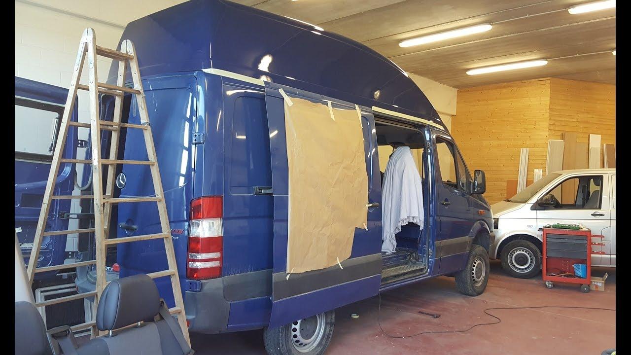 Sprinter 4x4 Van Conversion To A Camper