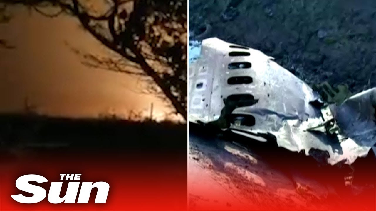 Ukrainian Boeing 737 jetliner crashes outside Tehran, killing all 176 ...