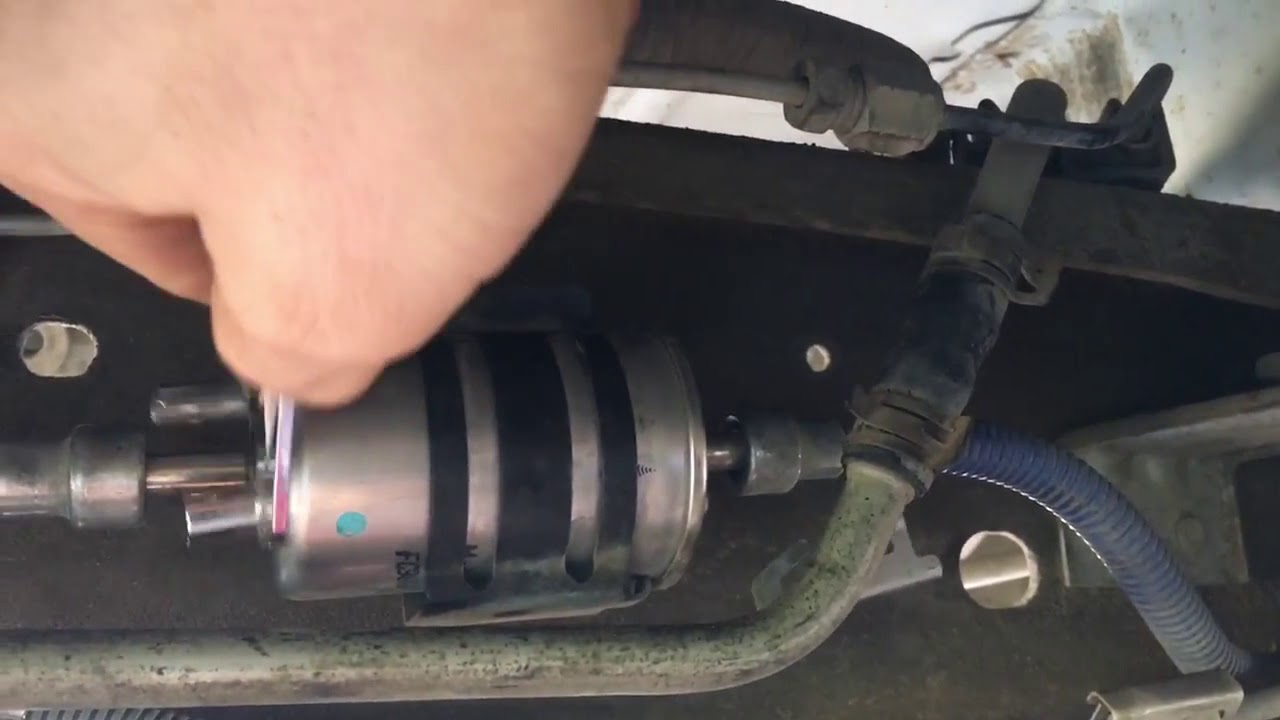 [SCHEMATICS_4US]  How To Replace 2001 Ford F150 Fuel Filter 1997 2003 - YouTube | 1999 Expedition Fuel Filter |  | YouTube