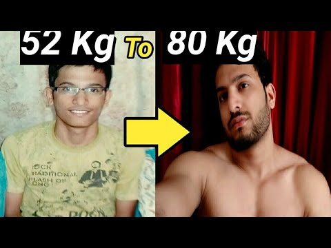 How to Gain Weight fast for men in hindi [my natural body transforma]|how to increase Weight for men